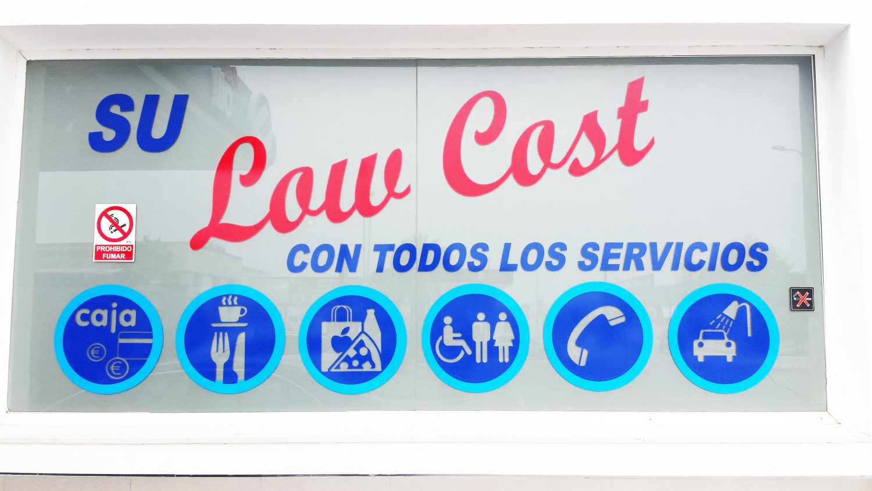 low cost con todos los servicios
